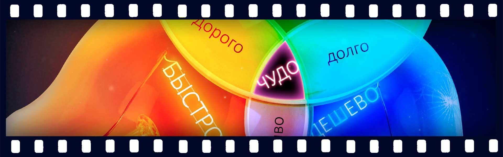 На чем можно сэкономить при изготовлении видеоролика