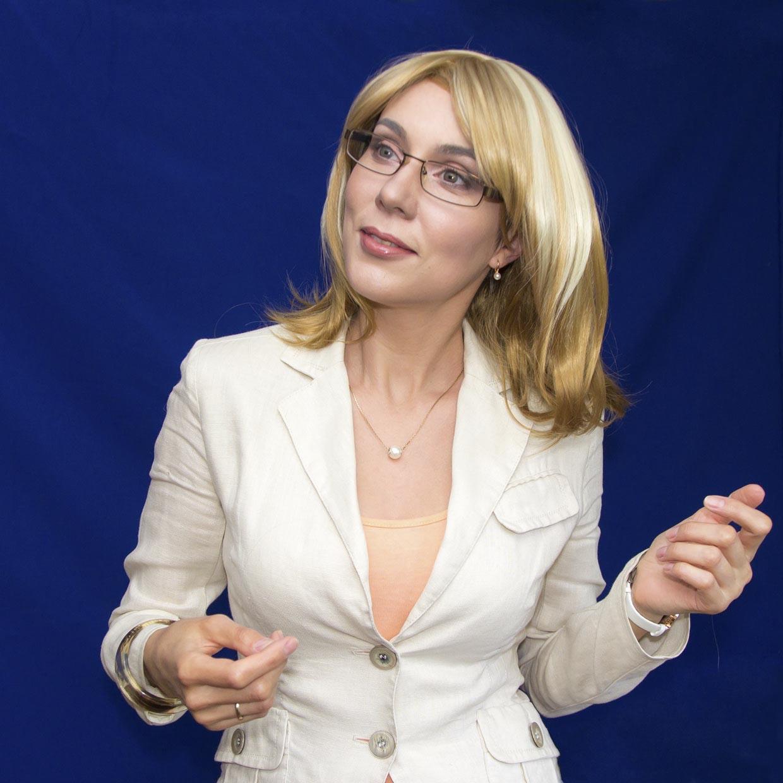 Блондинка Офис