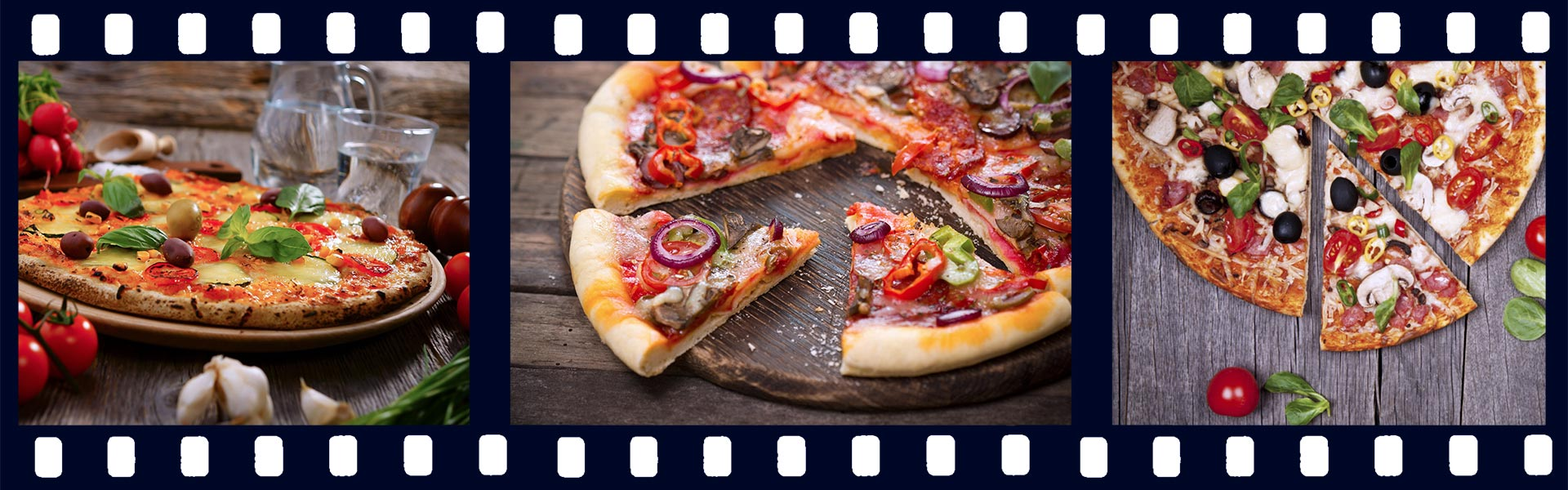 Видео для пиццерии «Домино» и «Бургерной»