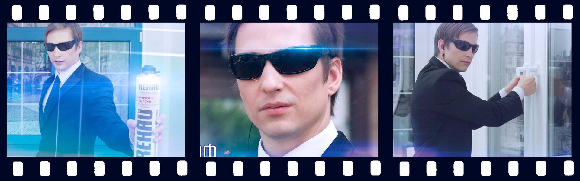 «Агент Окнофф» постановочный рекламный ролик