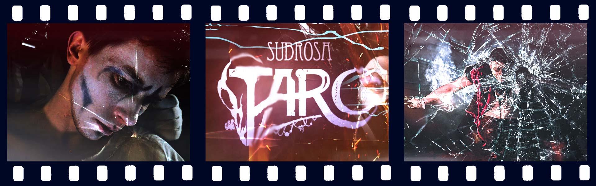 Тизер «ТАРО» Спектакль театра уличного искусства «SubRosa», 2017