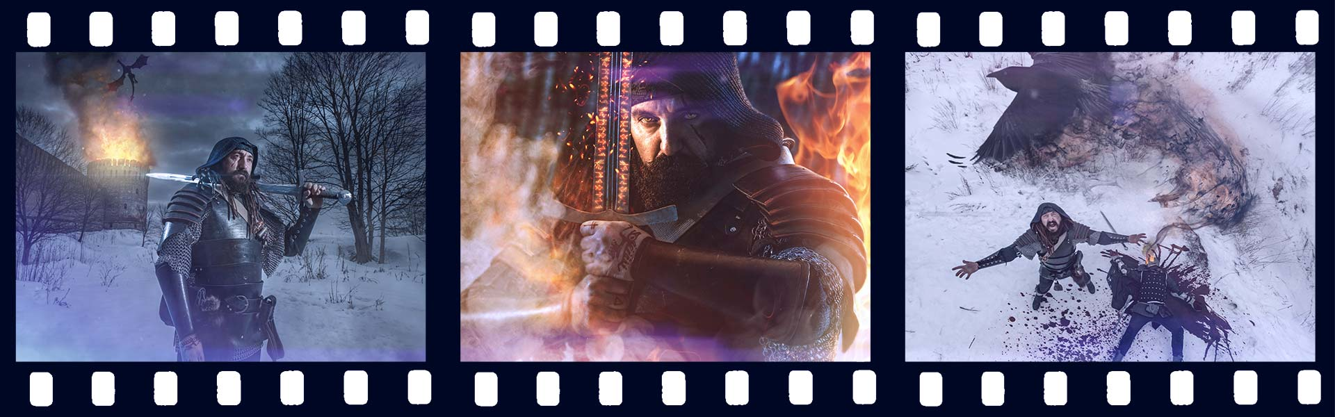 фотосессия Ведьмак The Witcher